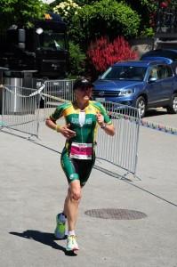 Konzentration auf der zweiten Runde Ironman 70.3