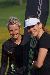 Iris und Pascale von Forest Fitness
